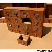 دراور چوبی فانتزی , جدیدترین مدل دراور و آینه