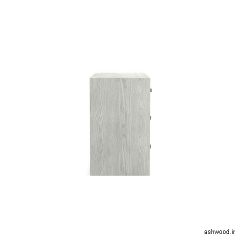 دراور چوبی 7 کشو با چوب بلوط و اش