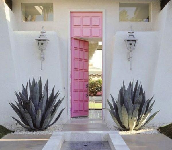 درب با رنگ های خاص