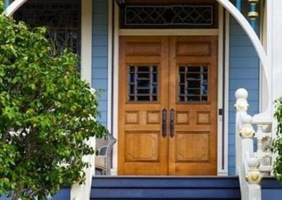 درب برای فضاهای آبی رنگ