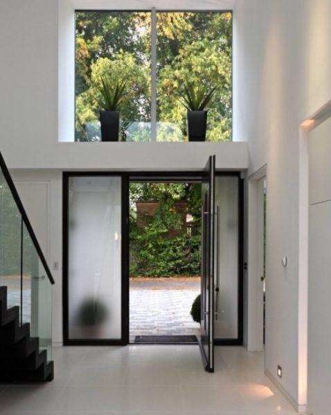 درب شیشه ای برای خانه