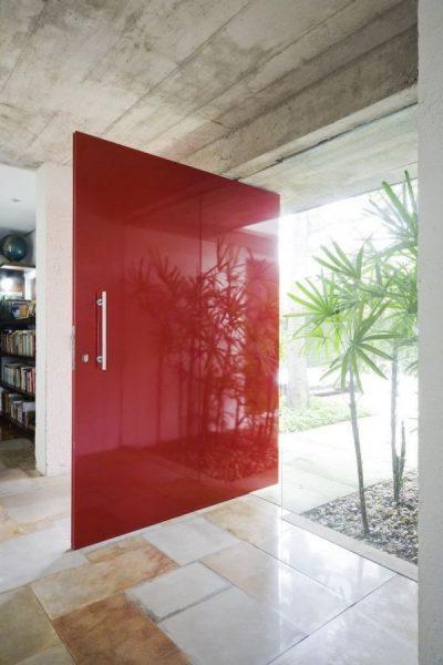 درب قرمز کاردینال