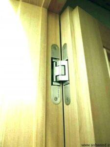 دتایل درب لولا مخفی , درب های فریم مخفی