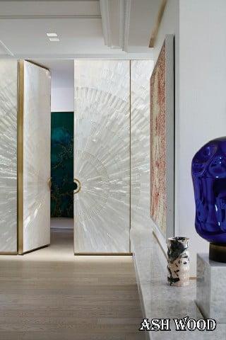 طراحی مدرن درب های داخلی برای شیک ترین تغییرات در اتاق خواب