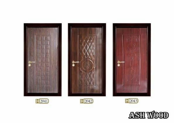 درب ملامینه روکش HPL , درب چوبی ارزان