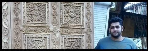 منبت کاری چوب تهران, استاد بهزاد محمد خانی