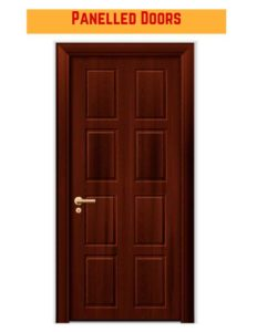 درب های روکش دار