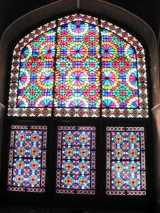 درب های مشبک (ارسی ) باغ دولت آباد - یزد