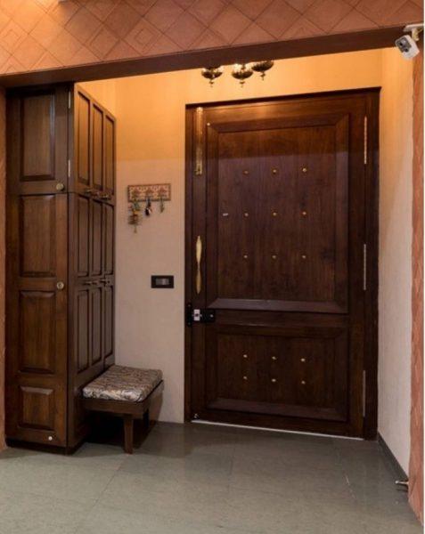 درب های چوبی ورودی سنتی