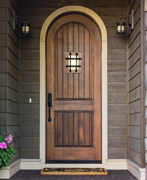 درب های چوبی ورودی