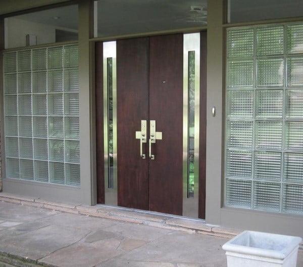 درب های چوب و فلز