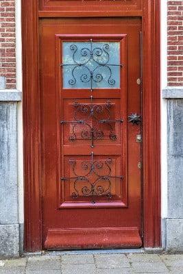 درب ورودی ساختمان مسکونی, قیمت درب تمام چوب, جدیدترین مدل درب چوبی اتاق