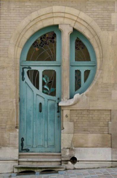 درب ورودی پنجره ای