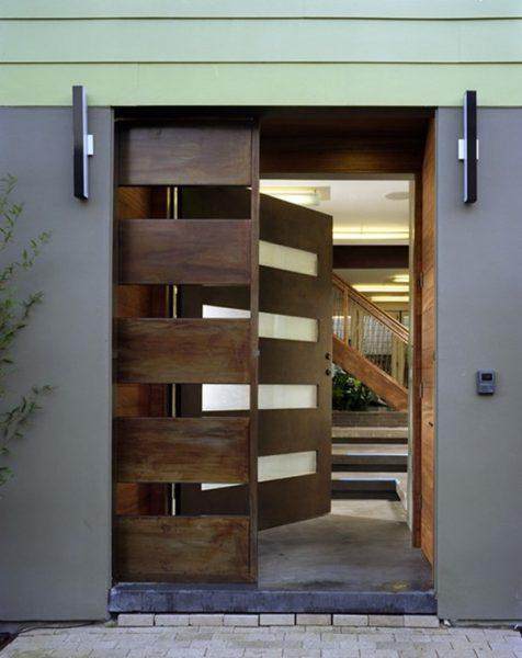 درب ورودی کشویی