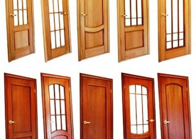 انواع طرح و مدل درب چوبی