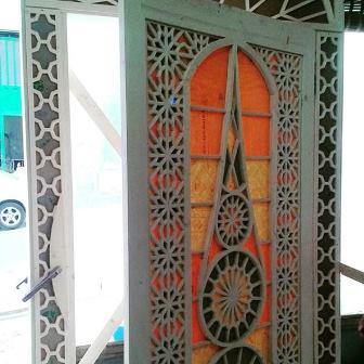 نمونه کار دکوراسیون چوبی سنتی و ایرانی