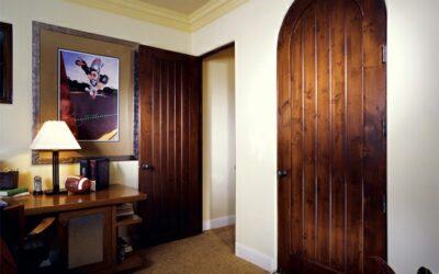 انواع مدل درب داخلی تمام چوب