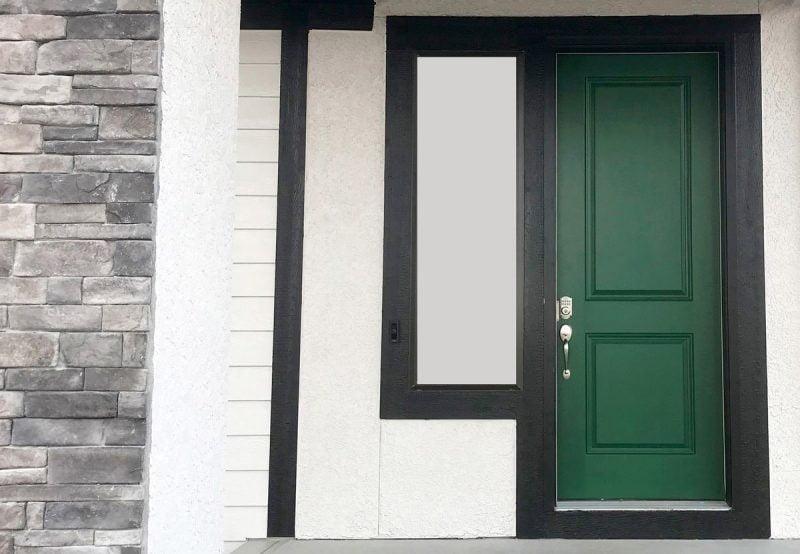 درب چوبی زیبا
