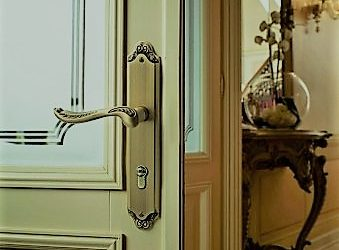 درب چوب و ام دی اف روکش بلوط ؛ مدل درب اتاقی سفارشی