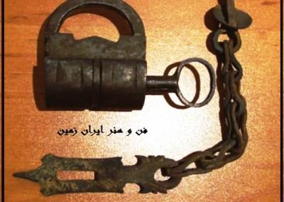 قفل و آویز قدیمی