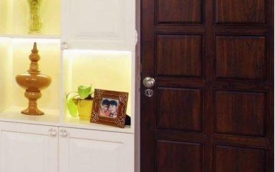 معرفی طرح های جدید 1400 برای درب چوبی ورودی خانه شما