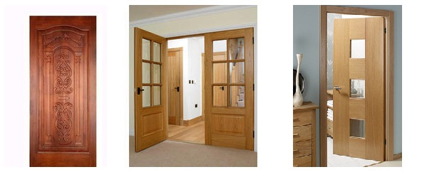 انواع درب چوبی , ساخت درب