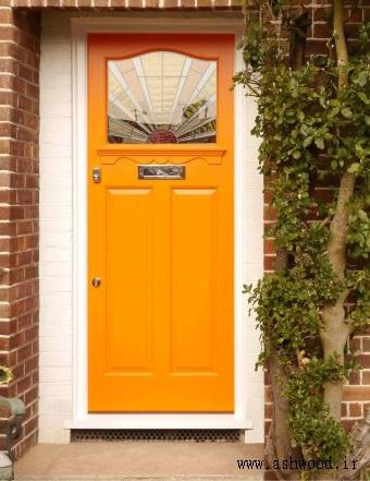 درب چوبی سبک آرت دکو