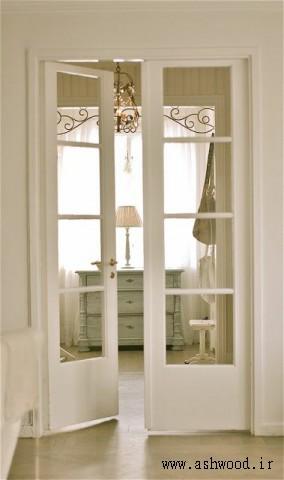 درب چوبی فرانسوی