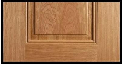 مدل درب چوبی روکش بلوط آمریکایی