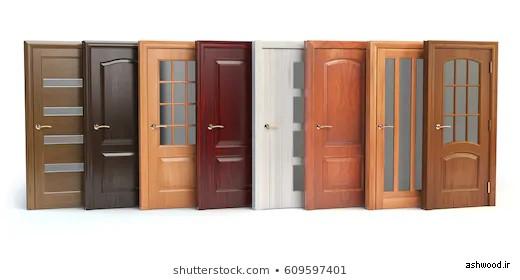 ایده و مدل انواع درب چوبی سفارشی