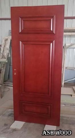 درب رنگ ماهگونی
