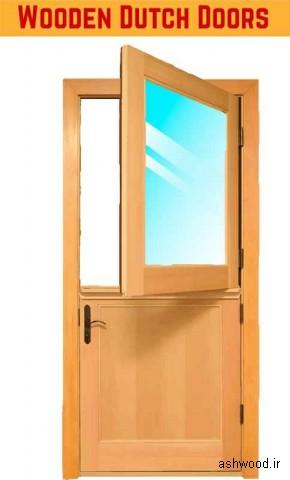 مدل های درب چوبی