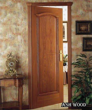 درب اتاقی چوب
