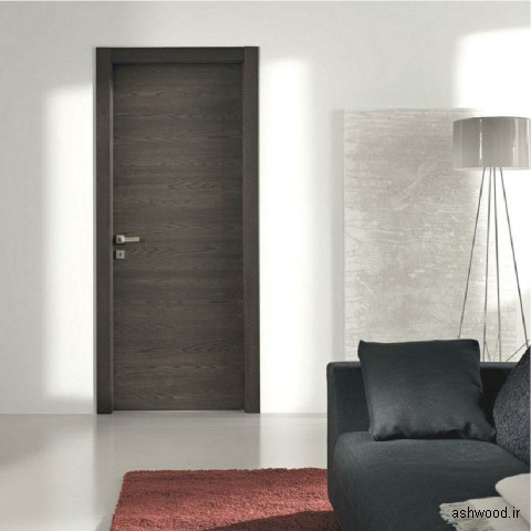 ایده و مدل درب چوبی اتاقی