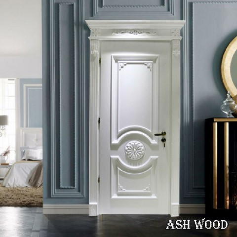 طراحی و ساخت درب چوبی کلاسیک