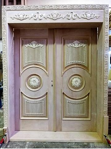 ساخت درب تمام چوب و منبت کاری شده , متخصص در ساخت دربهای تمام چوب