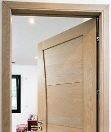 درب داخلی تمام چوب به سبک اسکاندیناوی, درب تمام چوب بلوط