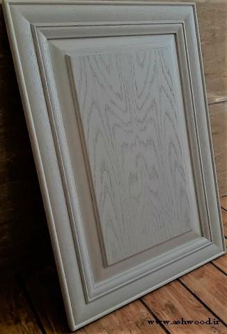 درب چوبی کابینت چوب بلوط