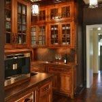 کابینت و درب چوبی