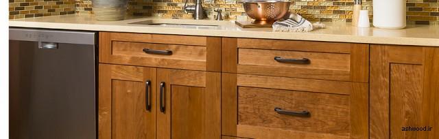 انواع در کابینت چوبی آشپزخانه, 44 مدل و ایده جدید درب کابینت