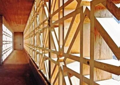 ارسی و گره چینی پنجره ای رو به نور