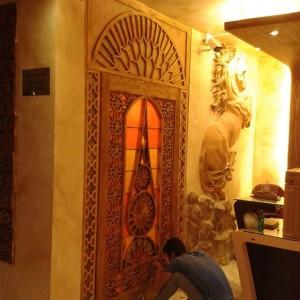 ساخت درب و پنجره های سنتی ، گره چینی