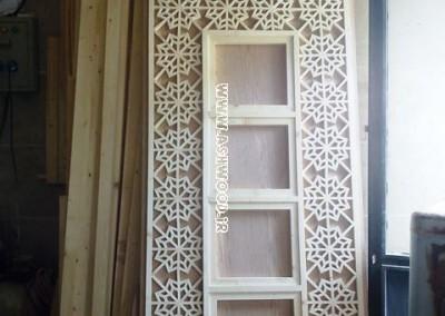 درب گره چینی ، پنجره ارسی ، درب قدیمی چوبی