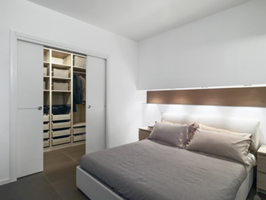 مدل درب چوبی کمد دیواری کشویی