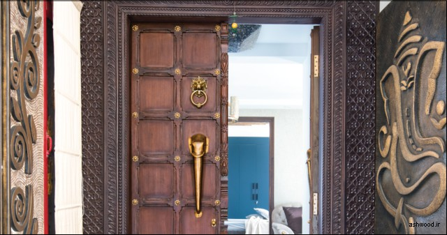 انواع درب چوبی ورودی