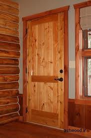 مدل و ایده درب چوبی