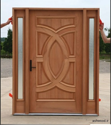 انواع درب چوبی , در چوبی