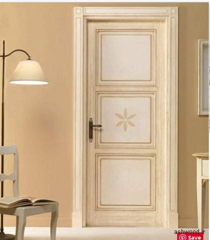 مدل درب اتاق خواب چوبی