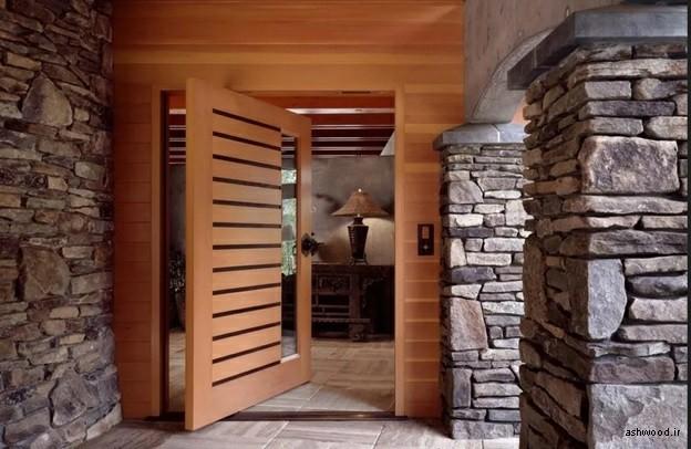 مدل و سبک درب چوبی