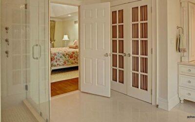 در که در خانه شما عالی به نظر می رسد, درب چوبی